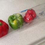 """De """"famøse"""" peberfrugter i dobbelt emballage"""
