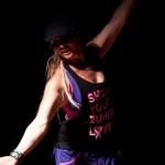 Amerikanske Jenna Bostic nød sin optræden i Bylderup-Bov hallen